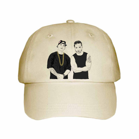 Luis Fonsi and Daddy Yankee Despacito Khaki Hat/Cap
