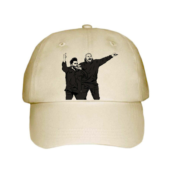 The Weeknd and Drake Khaki Hat/CapThe Weeknd and Drake Khaki Hat/Cap