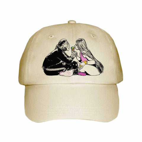 Tekashi 69 6ix9ine and Nicki Minaj Fefe Khaki Hat/Cap