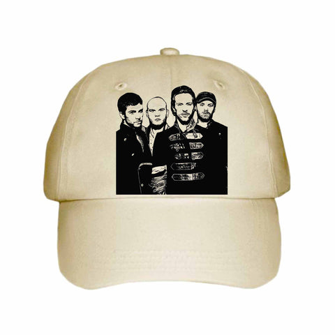 Coldplay 1 Khaki Hat/Cap
