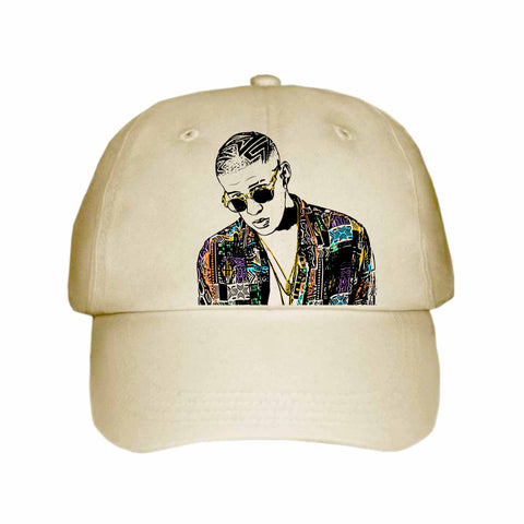 Bad Bunny Khaki Hat/Cap