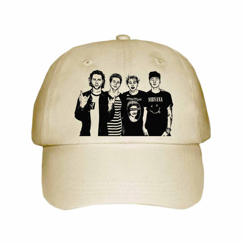 5 Seconds of Summer Khaki Hat/Cap