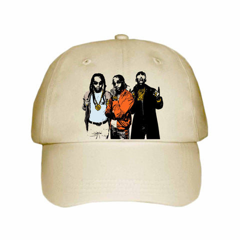 Quavo from migos 2.0 Khaki Hat/Cap
