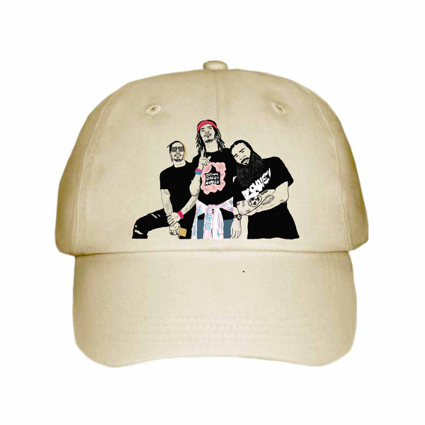Flatbush Zombies Khaki Hat/Cap