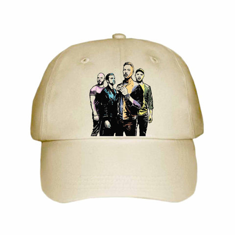 Coldplay 2 Khaki Hat/Cap