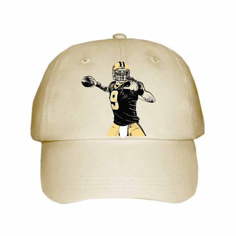 Drew Brees Khaki Hat/Cap