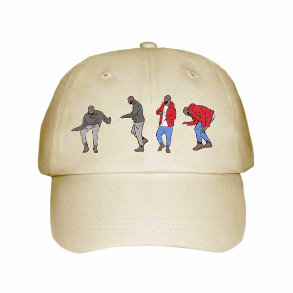Drake Hotline Bling Dance Khaki Hat/Cap // Jumpman views what a time Bling Drizzy Woes 6 god