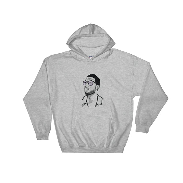 Kid Cudi 2 Grey Hoodie Sweater (Unisex), Babes & Gents, Ottawa