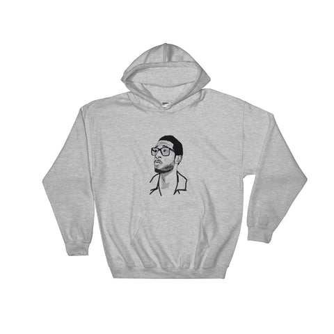 Kid Cudi 2 Grey Hoodie Sweater (Unisex)