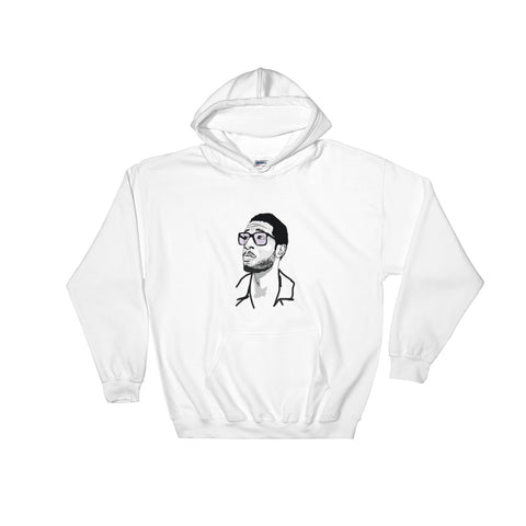 Kid Cudi 2 White Hoodie Sweater (Unisex)