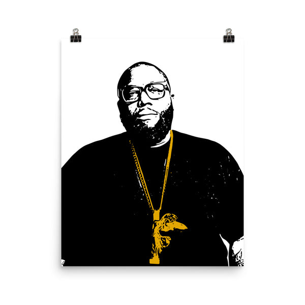 Killer Mike Art Poster (8x10 to 24x36) // Babes & Gents // www.babesngents.com