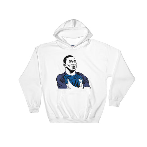 Kylian Mbappé White Hoodie Sweater