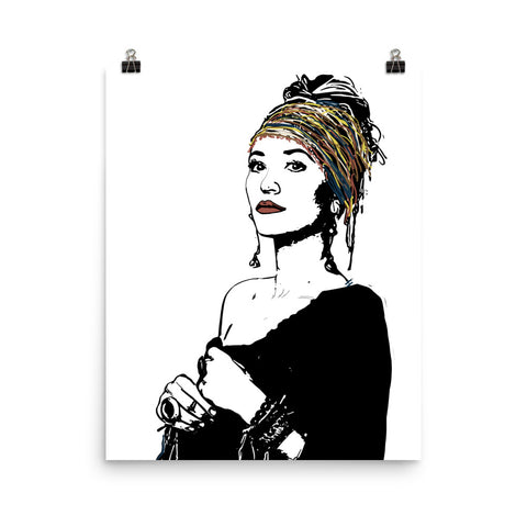 Lauren Daigle Art Poster (8x10 to 24x36)