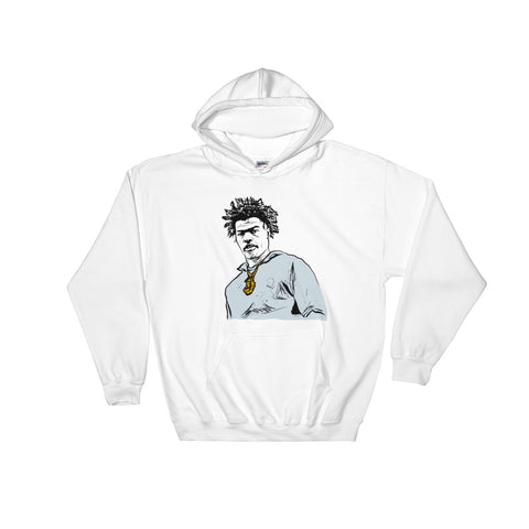 Lil Baby White Hoodie Sweater (Unisex)