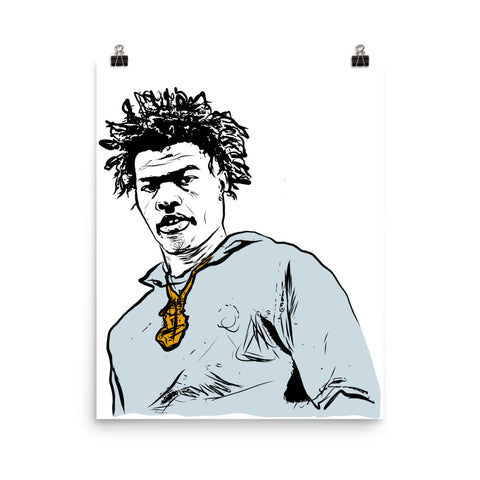 Lil Baby Art Poster (8x10 to 24x36)