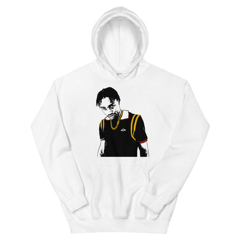 Lil Tjay White Hoodie Sweater (Unisex)