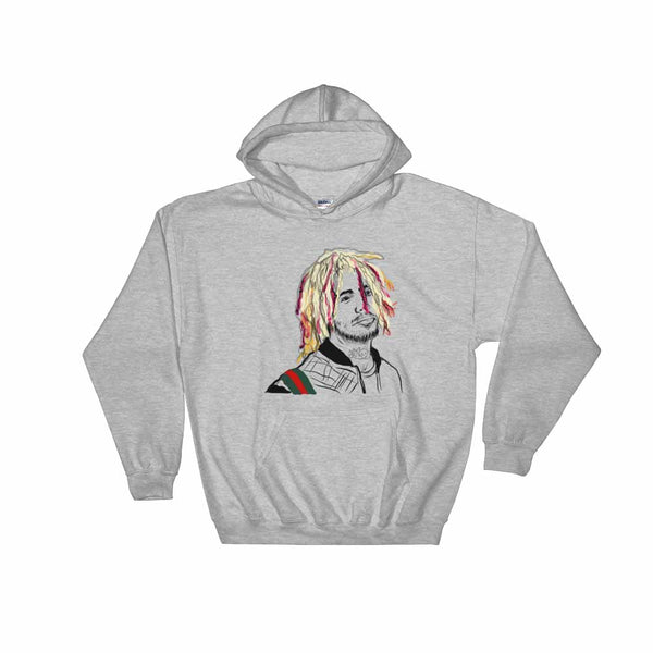 Lil Pump Grey Hoodie Sweater (Unisex) , Babes & Gents, Ottawa