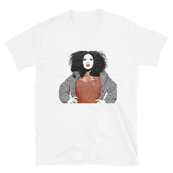 Lizzo White Tee (Unisex) // T-shirt // Babes & Gents // www.babesngents.com