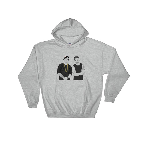 Luis Fonsi and Daddy Yankee Despacito Grey Hoodie Sweater (Unisex), Babes & Gents, Ottawa
