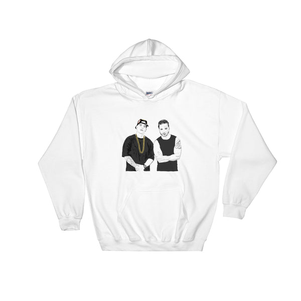 Luis Fonsi and Daddy Yankee Despacito White Hoodie Sweater (Unisex), Babes & Gents, Ottawa