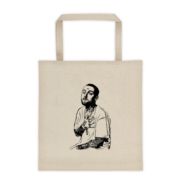 Mac Miller 2 Canvas Tote Bag, Babes & Gents, www.babesngents.com