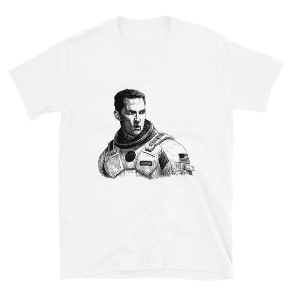 Matthew Mcconaughey White Tee (Unisex) // T-shirt // Babes & Gents // www.babesngents.com