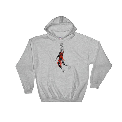 Michael Jordan Grey Hoodie Sweater (Unisex)