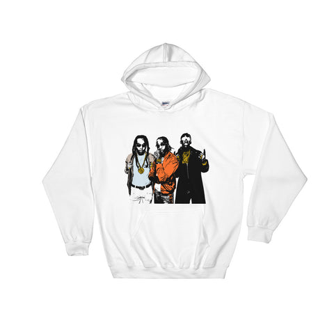 Quavo from migos 2.0 White Hoodie Sweater (Unisex)