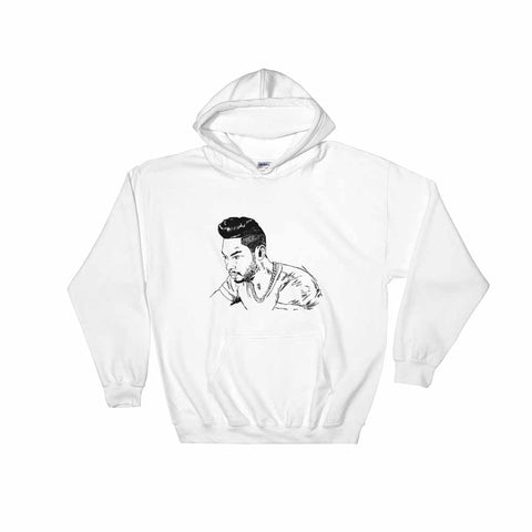Miguel White Hoodie Sweater (Unisex)