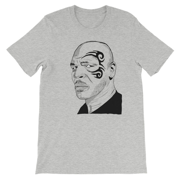 Mike Tyson Grey Tee (Unisex) // T-shirt // Babes & Gents // www.babesngents.com