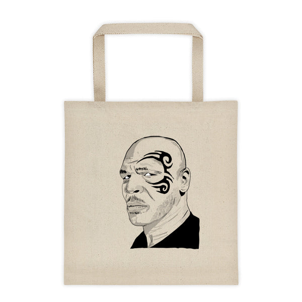 Mike Tyson Canvas Tote Bag, Babes & Gents, www.babesngents.com