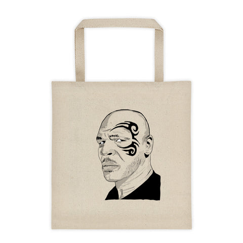 Mike Tyson Canvas Tote Bag