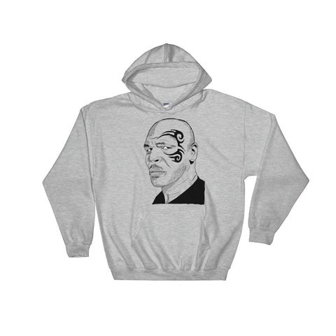 Mike Tyson Grey Hoodie Sweater (Unisex)