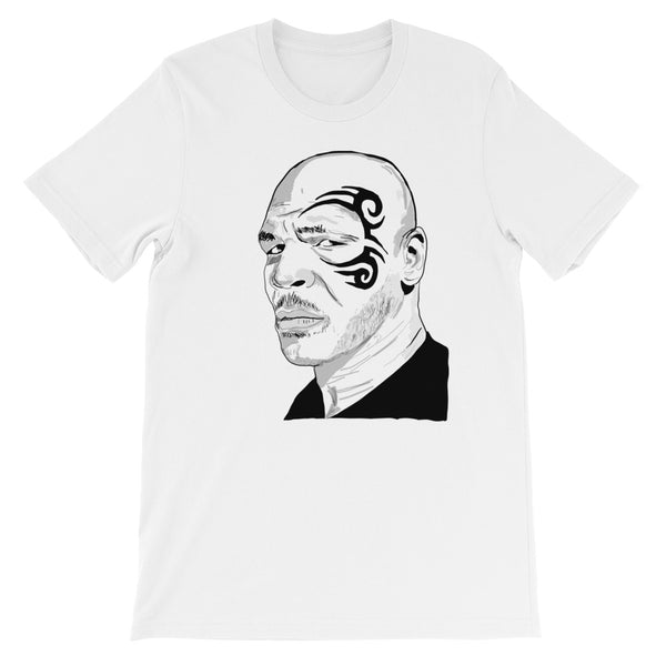 Mike Tyson White Tee (Unisex) // T-shirt // Babes & Gents // www.babesngents.com