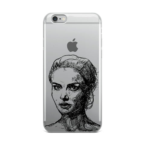 Natalie Portman iPhone Phone Case