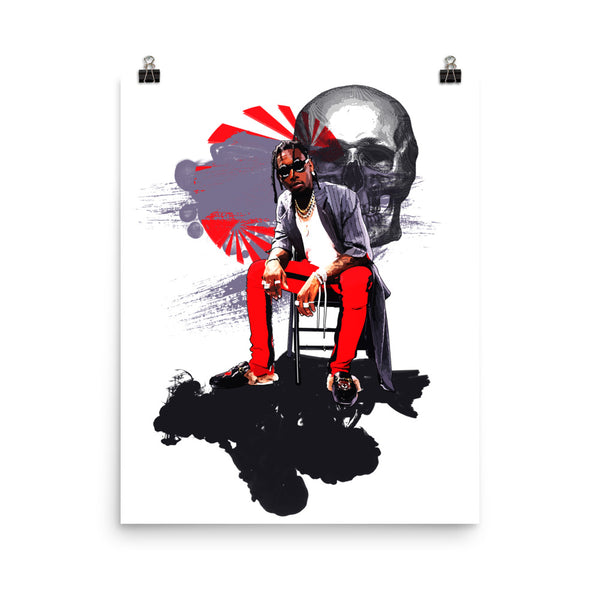 Offset Art Poster (6 sizes) // Babes & Gents // www.babesngents.com