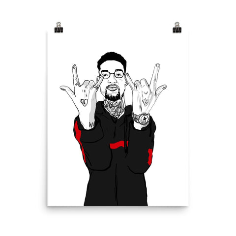 PNB Rock Art Poster (8x10 to 24x36)