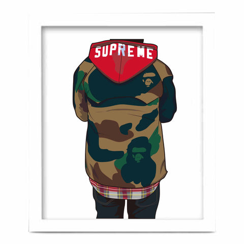 Supreme Bape Art Poster (6 sizes)