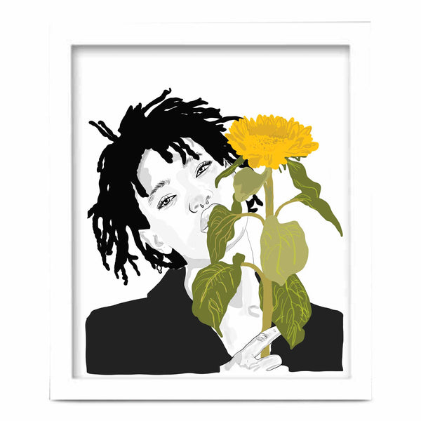 Willow Smith Art Poster (6 sizes) // Babes & Gents // www.babesngents.com