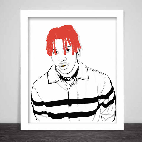 Lil Yachty Art Poster (6 sizes)