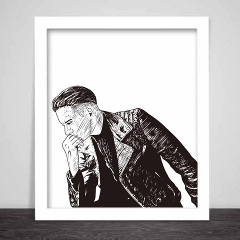 G-eazy When its dark out Art Poster (6 sizes) // geazy g eazy leather jacket 2