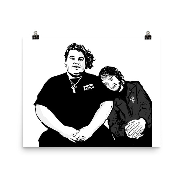 Pouya Fat Nick Art Poster (6 sizes) // Babes & Gents // www.babesngents.com