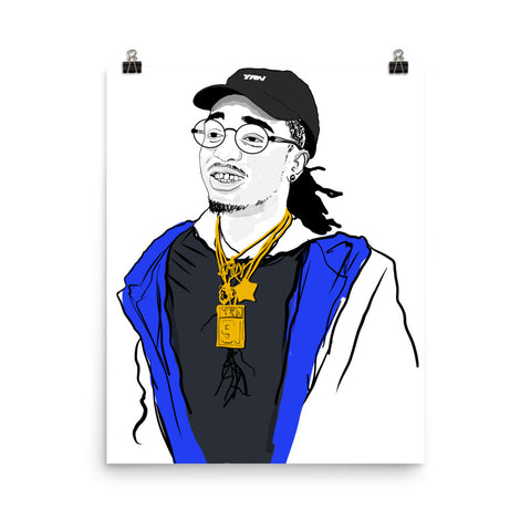 QUAVO FROM MIGOS 2.0 11x17 Art Poster
