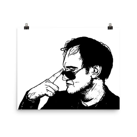 Quentin Tarantino Art Poster (8x10 to 24x36)