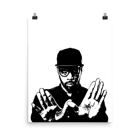 RZA Art Poster (8x10 to 24x36)
