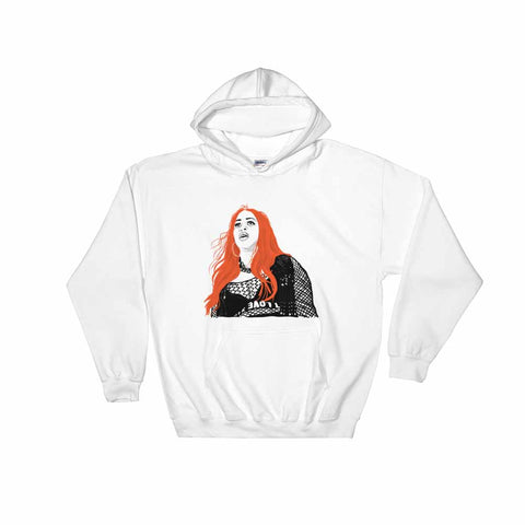 Remy Ma White Hoodie Sweater (Unisex)