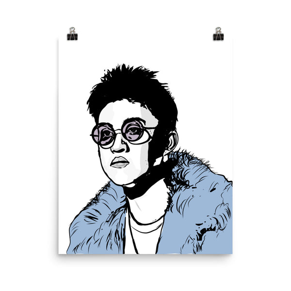 Rich Chigga Rich Brian Art Poster (6 sizes) // Babes & Gents // www.babesngents.com