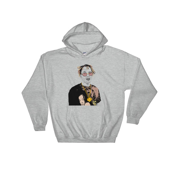 Rich the Kid Grey Hoodie Sweater (Unisex), Babes & Gents, Ottawa
