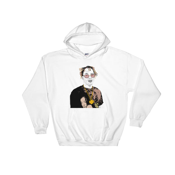 Rich the Kid White Hoodie Sweater (Unisex), Babes & Gents, Ottawa
