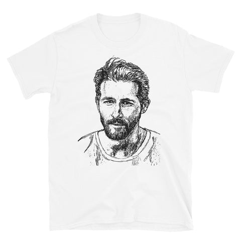 Ryan Reynolds White Tee (Unisex)